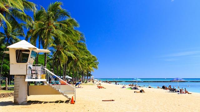 Hotels und Beach Resorts in Honolulu